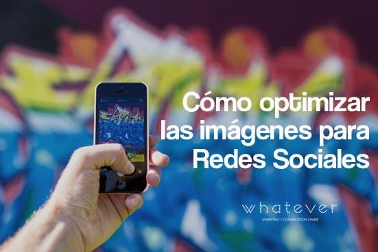 optimizar imagenes eredes sociales